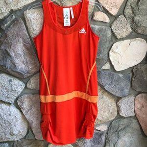 Adidas Climacool Orange Tennis Dress Medium